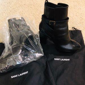 Brand new YSL Black Boots